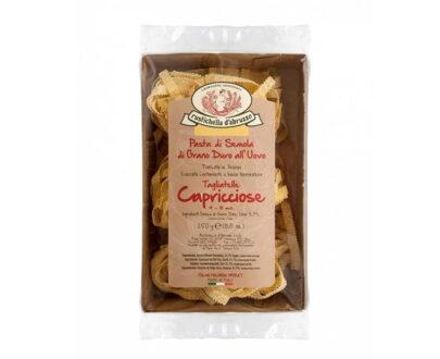 Paste Tagliatelle Capricciose cu Ou Grano Duro Rustichella D'Abruzzo
