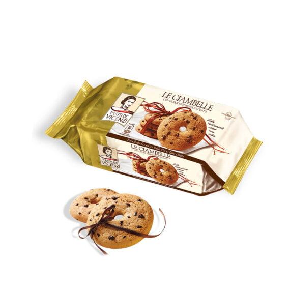 Fursecuri cu Fulgi de Ciocolata Ciambelle Matilde Vicenzi