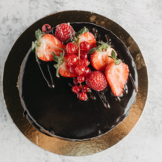 Tort Sacher Pasticcera La Bottega