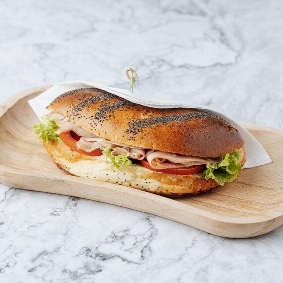 Sandwich cu Sunca de Curcan